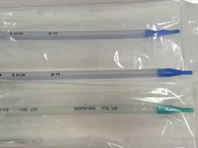 Thoracic catheter straight NO 28