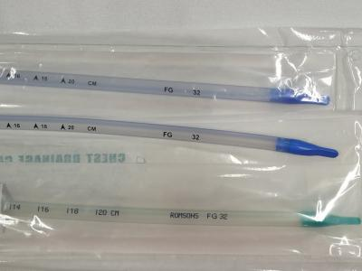 Thoracic catheter straight No 32
