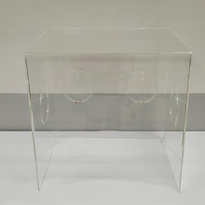 Clear Acrylic  box (for intubation)